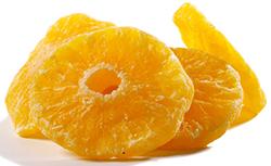 Pineapple: Dried
